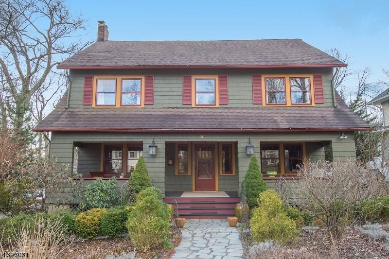 Частный односемейный дом для того Продажа на 50 Euclid Avenue Maplewood, 07040 Соединенные Штаты