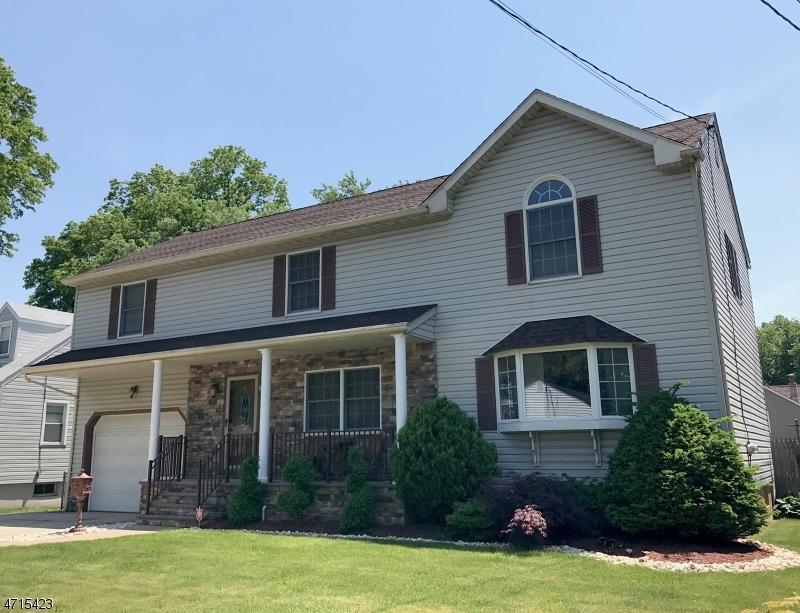 Частный односемейный дом для того Продажа на 507 Quinton Avenue Kenilworth, 07033 Соединенные Штаты