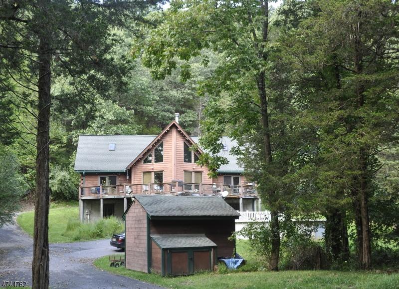 Eensgezinswoning voor Verkoop op 40 Paulinskill Road Hardwick, New Jersey 07825 Verenigde Staten