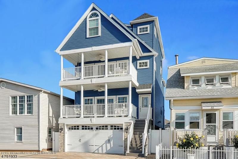 Частный односемейный дом для того Продажа на 54 Kearney Avenue Seaside Heights, Нью-Джерси 08751 Соединенные Штаты