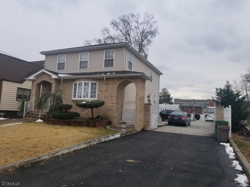 Einfamilienhaus für Verkauf beim 230 E Curtis Street Linden, New Jersey 07036 Vereinigte Staaten