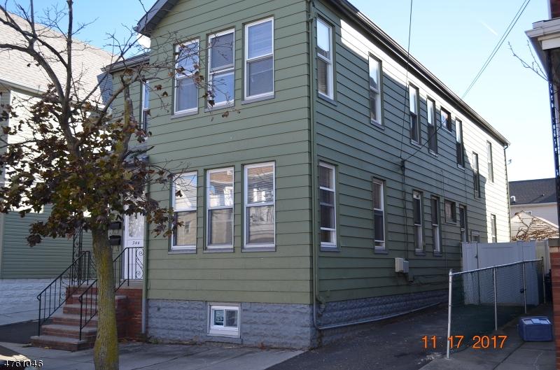 Maison avec plusieurs logements pour l Vente à 344 Chestnut Street Kearny, New Jersey 07032 États-Unis