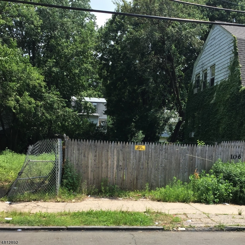 Land for Sale at 106 COLUMBIA Avenue Newark, New Jersey 07106 United States