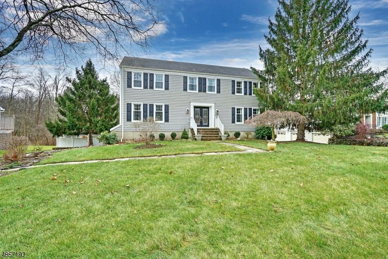 Частный односемейный дом для того Продажа на 155 Cottage Pl W Long Hill, Нью-Джерси 07933 Соединенные Штаты