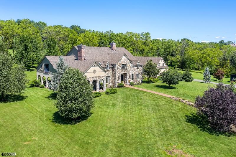 Single Family Homes por un Venta en Tewksbury Township, Nueva Jersey 08833 Estados Unidos