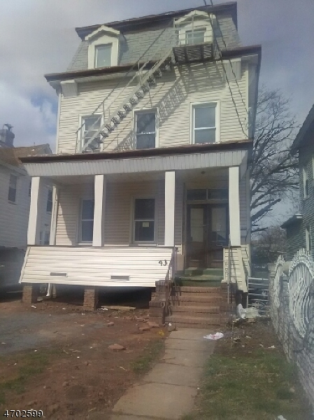 Single Family Home for Rent at 43 Sayre Street Elizabeth, 07208 United States