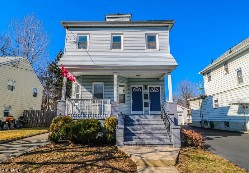 Многосемейный дом для того Продажа на 511 HUSSA Street Linden, Нью-Джерси 07036 Соединенные Штаты