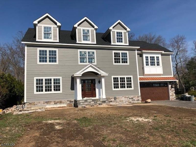 Частный односемейный дом для того Продажа на 125 Braidburn Road Florham Park, Нью-Джерси 07932 Соединенные Штаты