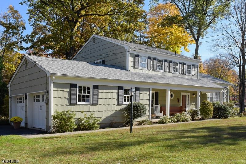 独户住宅 为 销售 在 2 Beech Drive 莫里斯平原, 新泽西州 07950 美国