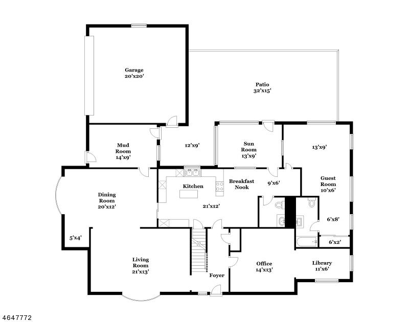 独户住宅 为 销售 在 768 Watchung Road Bound Brook, 08805 美国
