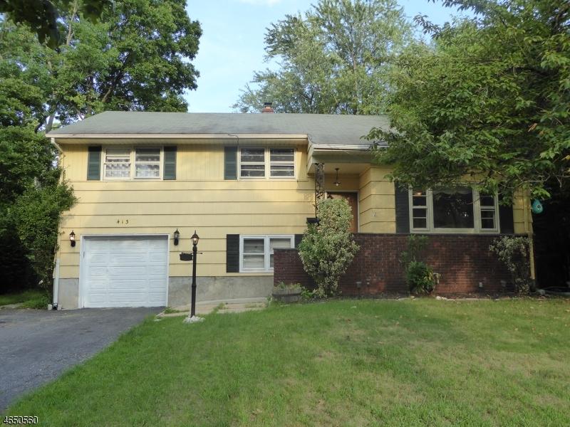 Частный односемейный дом для того Продажа на 413 Walnut Avenue Cranford, Нью-Джерси 07016 Соединенные Штаты