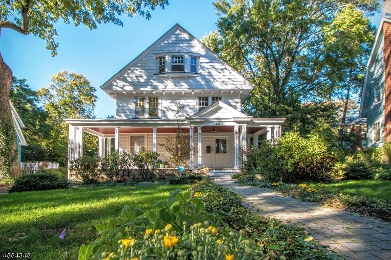 Частный односемейный дом для того Продажа на 507 Page Ter South Orange, Нью-Джерси 07079 Соединенные Штаты