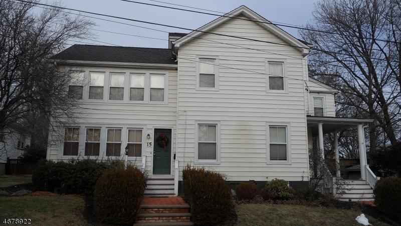 Частный односемейный дом для того Аренда на 15 Yantecaw Avenue Bloomfield, Нью-Джерси 07003 Соединенные Штаты