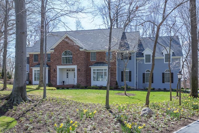 Maison unifamiliale pour l Vente à 1 Laurelwood Drive Bernardsville, New Jersey 07924 États-Unis