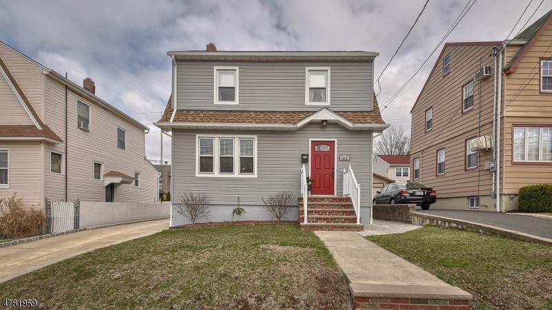 独户住宅 为 销售 在 413 Sussex Road Wood Ridge, 新泽西州 07075 美国