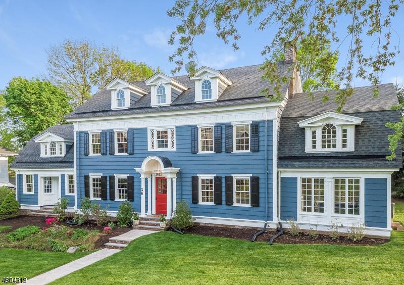 Casa Unifamiliar por un Venta en 30 Lenox Place Maplewood, Nueva Jersey 07040 Estados Unidos