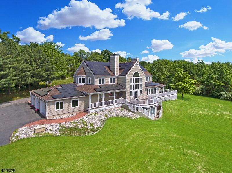 Частный односемейный дом для того Продажа на 4 RAINBOW HILL ROAD East Amwell, Нью-Джерси 08822 Соединенные Штаты