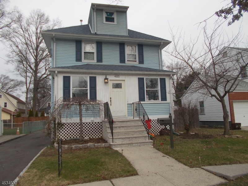 Single Family Home for Sale at 485 Grove Street Rahway, New Jersey 07065 United States