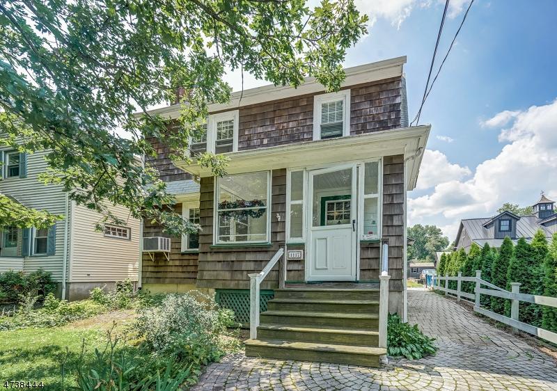 Частный односемейный дом для того Продажа на 1117 Mountain Avenue Mountainside, Нью-Джерси 07092 Соединенные Штаты