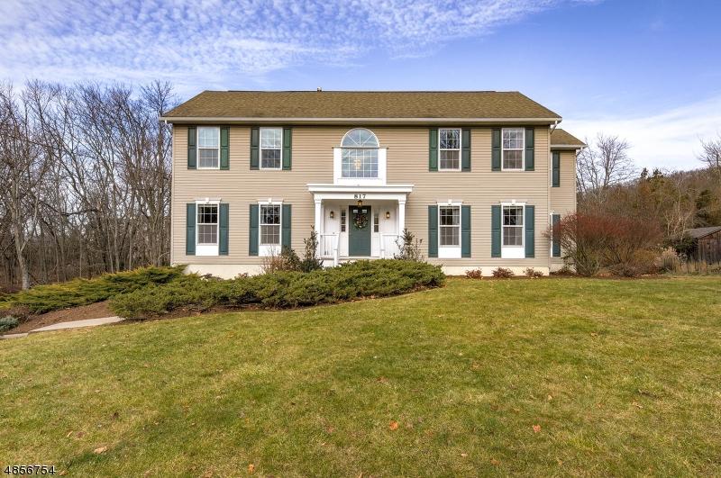 Maison unifamiliale pour l Vente à 817 BROWN Road Bridgewater, New Jersey 08807 États-Unis