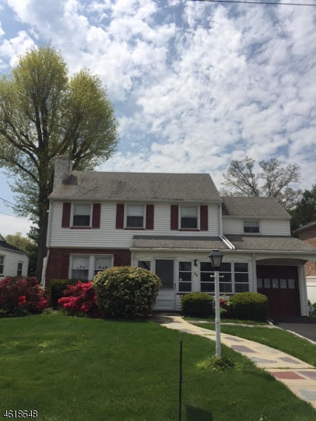 Single Family Home for Sale at 346 Putnam Road Union, New Jersey 07083 United States