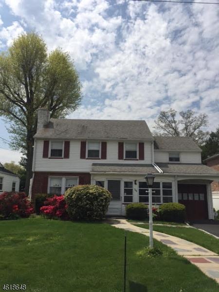 Частный односемейный дом для того Продажа на 346 Putnam Road Union, Нью-Джерси 07083 Соединенные Штаты