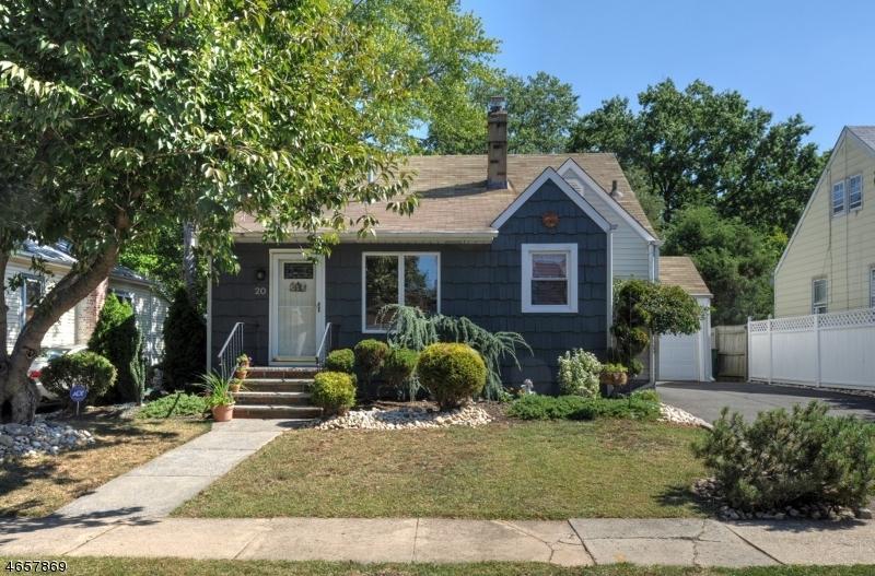 Частный односемейный дом для того Продажа на 20 Pallant Avenue Linden, Нью-Джерси 07036 Соединенные Штаты