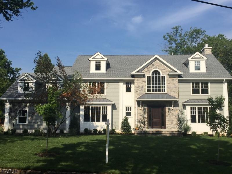 Частный односемейный дом для того Продажа на 7 Saratoga Way Millburn, 07078 Соединенные Штаты