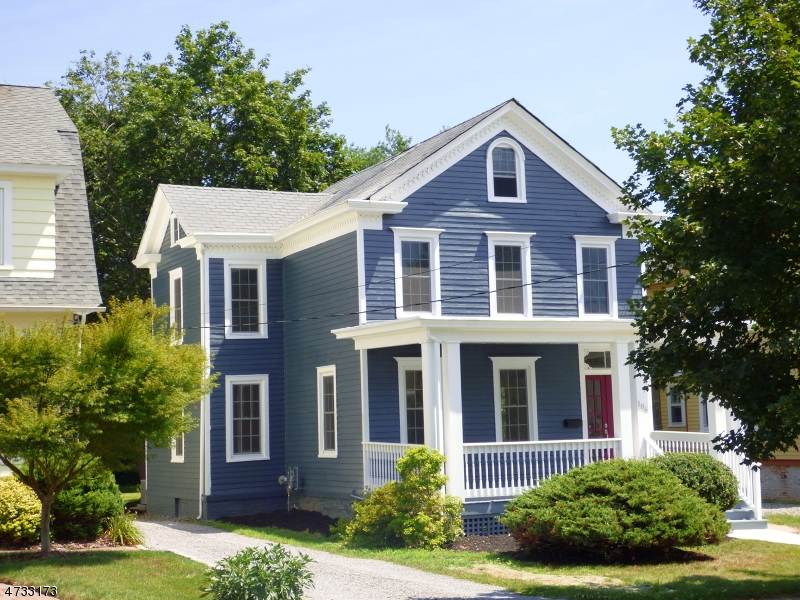 Single Family Home for Sale at 186 W Cliff Street Somerville, 08876 United States