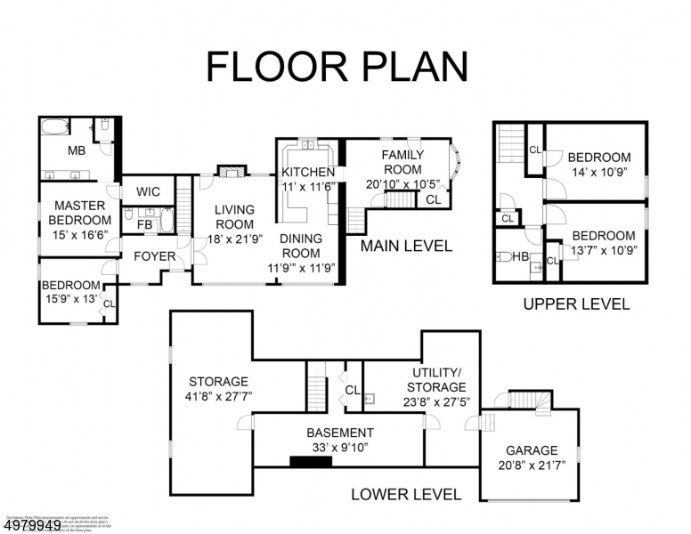 Single Family Homes 为 销售 在 奥克兰, 新泽西州 07436 美国