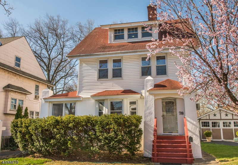 Single Family Home for Sale at 78 Evergreen Avenue Bloomfield, New Jersey 07003 United States