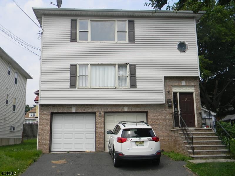 Maison unifamiliale pour l à louer à 99 Chapman Place Irvington, New Jersey 07111 États-Unis