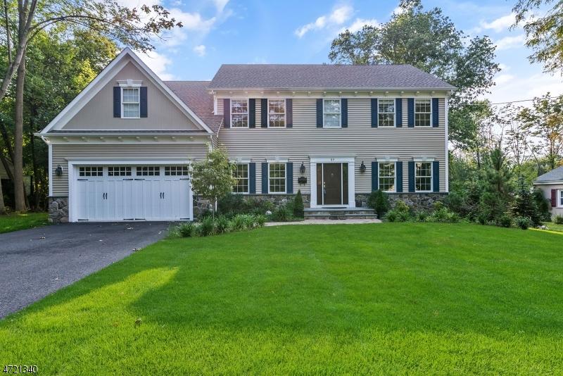 Частный односемейный дом для того Аренда на 57 Dogwood Lane Berkeley Heights, Нью-Джерси 07922 Соединенные Штаты