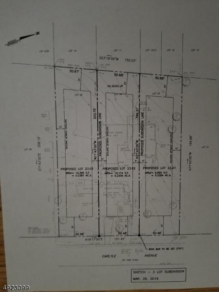 Terrain pour l Vente à Morris Plains, New Jersey 07950 États-Unis