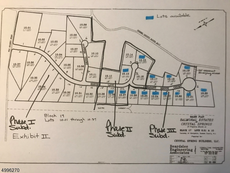 Land for Sale at Hardyston, New Jersey 07419 United States