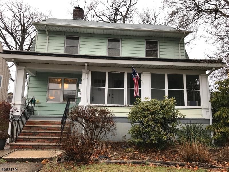 Casa Unifamiliar por un Alquiler en 48 Christopher Street Montclair, Nueva Jersey 07042 Estados Unidos