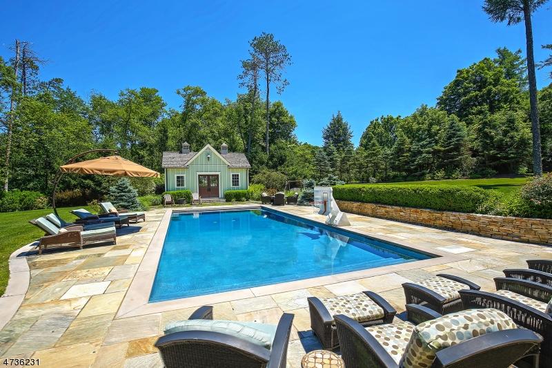 Maison unifamiliale pour l Vente à 1 Pine Hollow Lane Mendham, New Jersey 07931 États-Unis