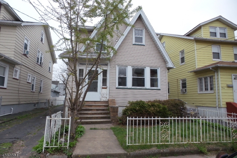 Single Family Home for Sale at 321 ELLERY AVE 321 ELLERY AVE Newark, New Jersey 07106 United States