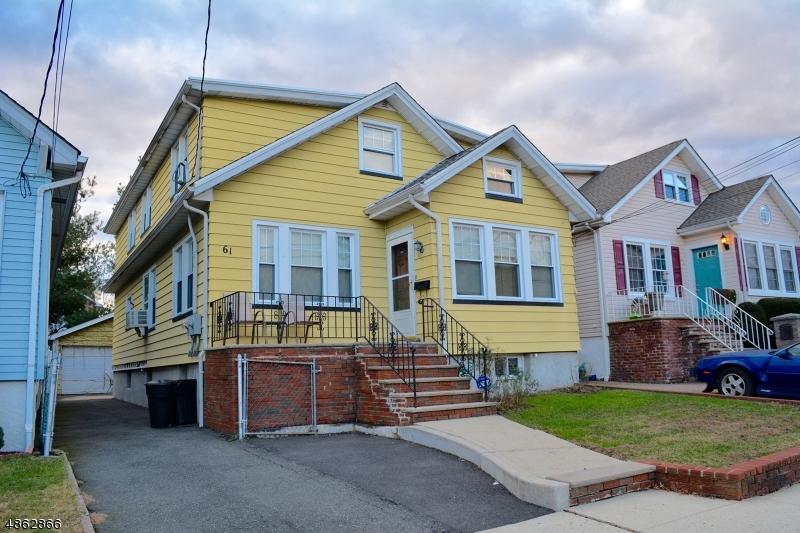 Многосемейный дом для того Продажа на 61 BELMOUNT Avenue North Arlington, Нью-Джерси 07031 Соединенные Штаты