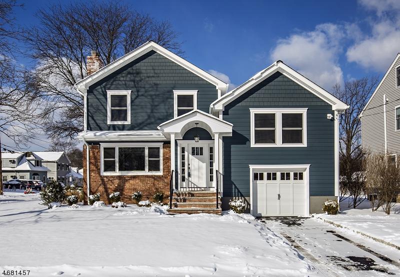 Частный односемейный дом для того Продажа на 405 Denman Road Cranford, Нью-Джерси 07016 Соединенные Штаты