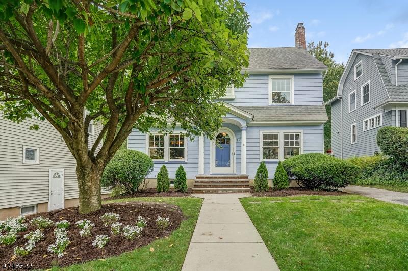 Частный односемейный дом для того Продажа на 27 Appleton Road Glen Ridge, Нью-Джерси 07028 Соединенные Штаты