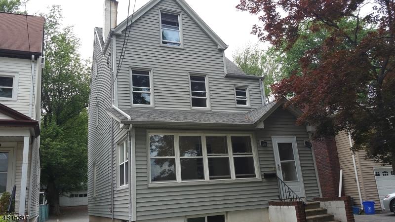 Частный односемейный дом для того Аренда на 741 Bloomfield Avenue Nutley, Нью-Джерси 07110 Соединенные Штаты
