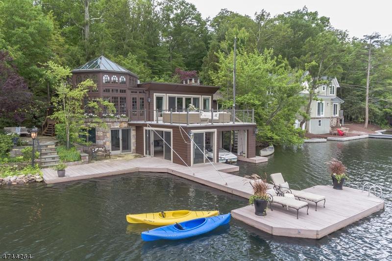 Casa Unifamiliar por un Venta en 125 LAKE END Road Rockaway, Nueva Jersey 07435 Estados Unidos