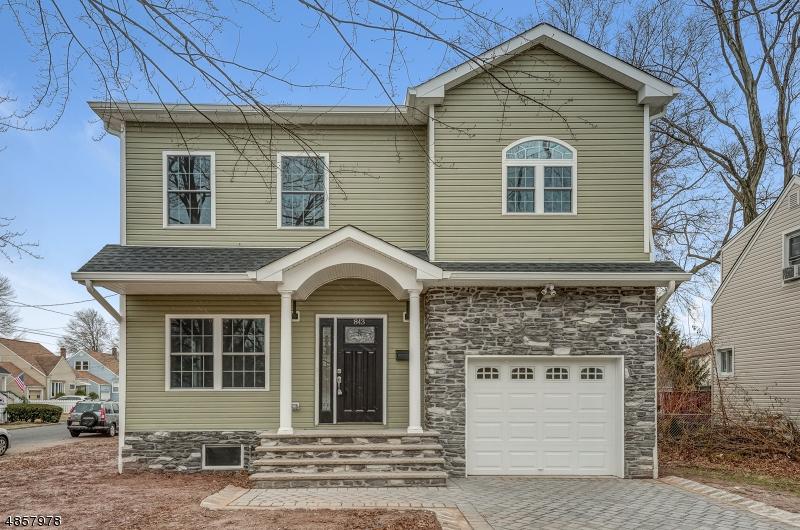 Villa per Vendita alle ore 843 LIBERTY Avenue Union, New Jersey 07083 Stati Uniti