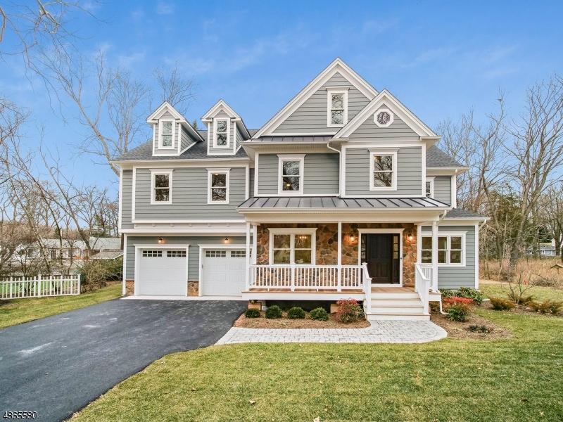 Частный односемейный дом для того Продажа на 347 ROLLING KNOLLS Road Scotch Plains, Нью-Джерси 07076 Соединенные Штаты