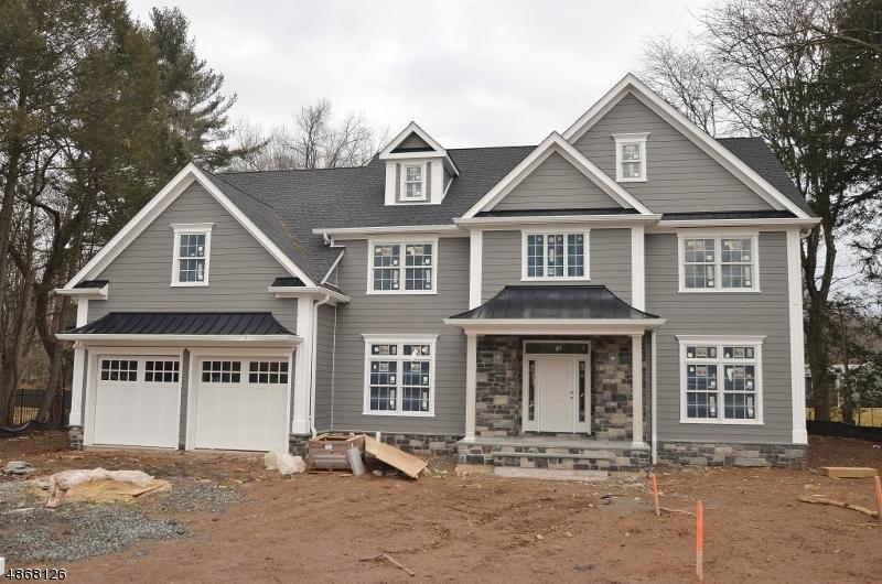 Частный односемейный дом для того Продажа на 5 AFTON Drive Florham Park, Нью-Джерси 07932 Соединенные Штаты