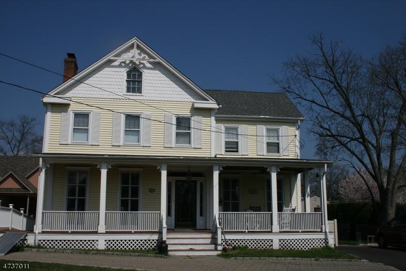 Частный односемейный дом для того Продажа на 1019 W Lake Avenue Rahway, Нью-Джерси 07065 Соединенные Штаты