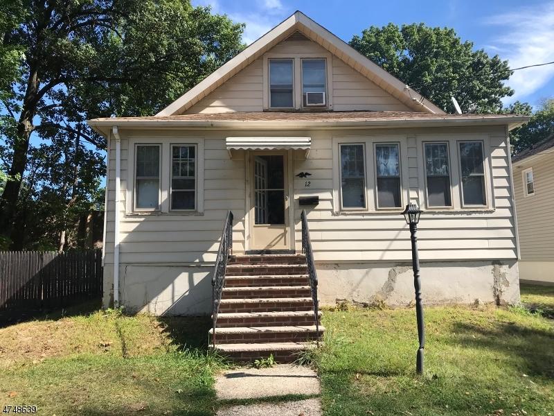 独户住宅 为 销售 在 12 BURWELL Street Union, 新泽西州 07083 美国