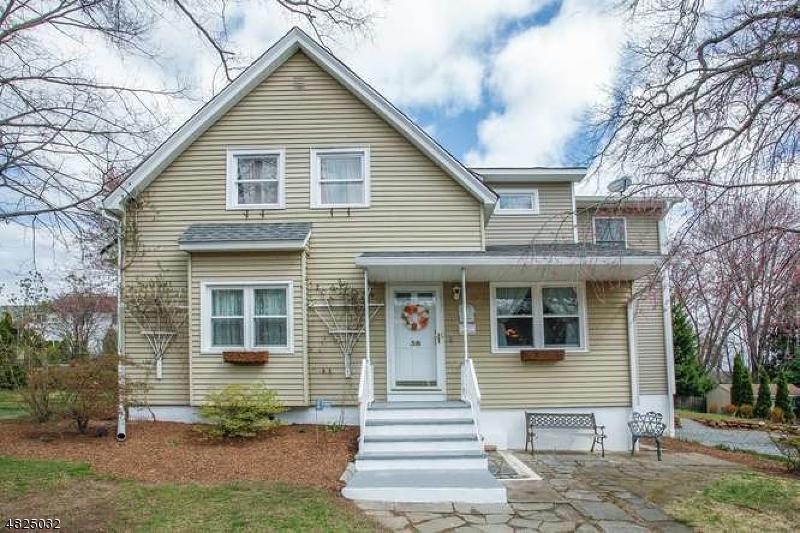 Einfamilienhaus für Verkauf beim 38 HILLSIDE Avenue Emerson, New Jersey 07630 Vereinigte Staaten