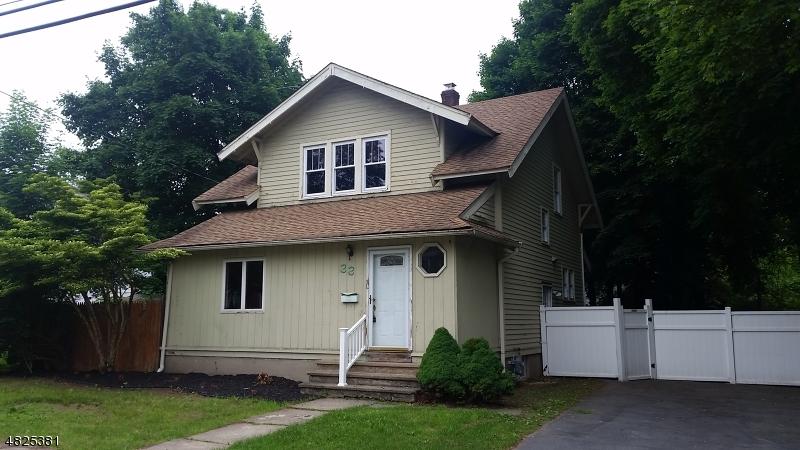 Eensgezinswoning voor Verkoop op 33 UNION Avenue Bloomingdale, New Jersey 07403 Verenigde Staten
